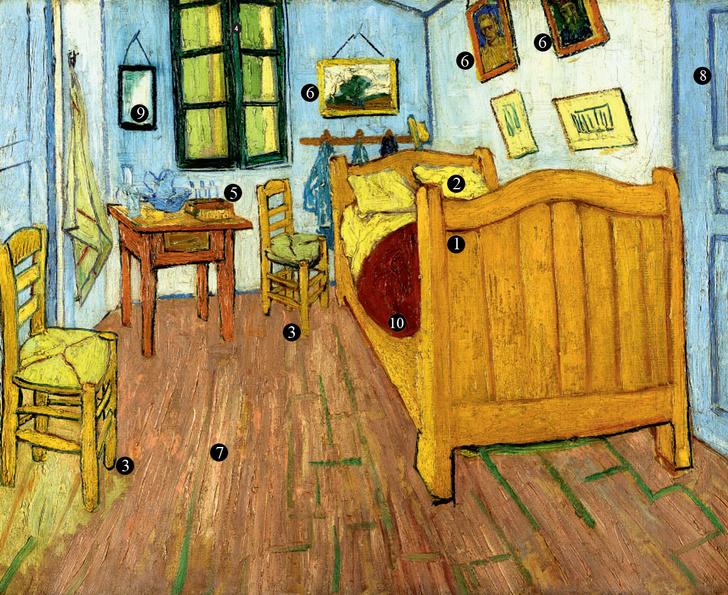 Фото №1 - Пустые кровати Ван Гога