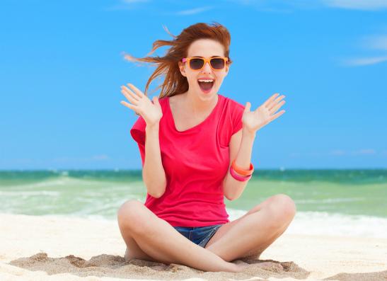 Фото №1 - Правила поведения на пляже: как получить красивый загар