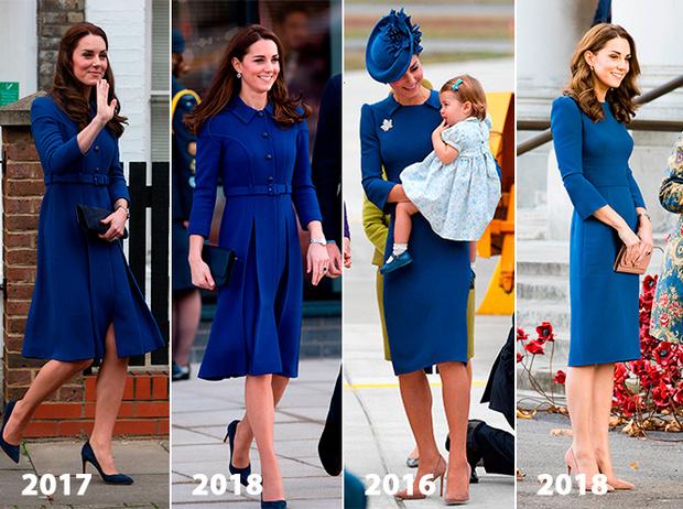 Фото №3 - Почему Кейт носит старые наряды, а Меган покупает новые