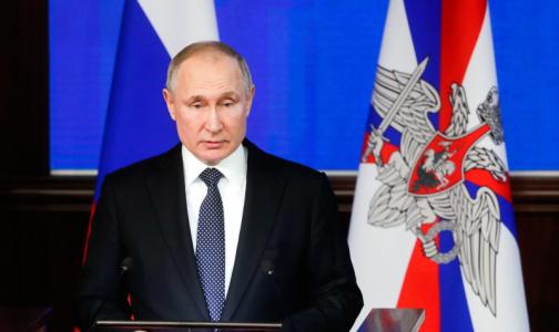 Фото №1 - «Все опускалось»: Путин снова напомнил о плачевном состоянии первичного звена
