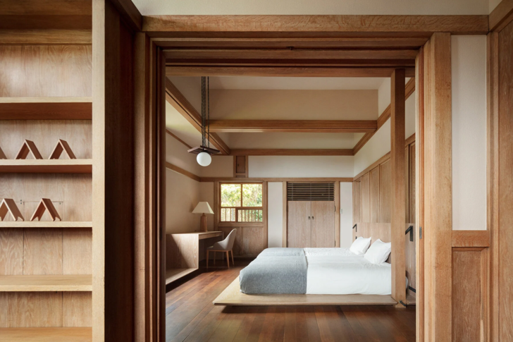 Фото №8 - Отель в стиле Фрэнка Ллойда Райта в Токио