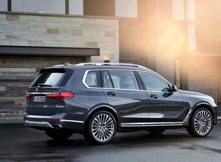 Фото №7 - Восемь убойных фактов о BMW X7