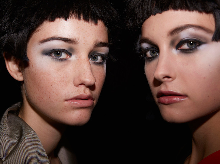 Фото №1 - Black&White: как повторить макияж с показа Giorgio Armani SS18 в Милане