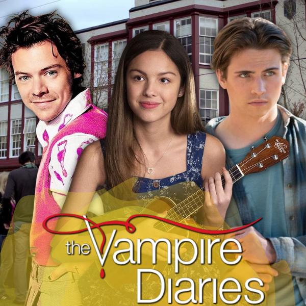 Фото №1 - Кто сыграл бы в сериале «Дневники вампира», если бы его снимали в 2021 году