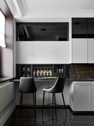Фото №5 - Новая классика в серых тонах: квартира 100 м² в Москве