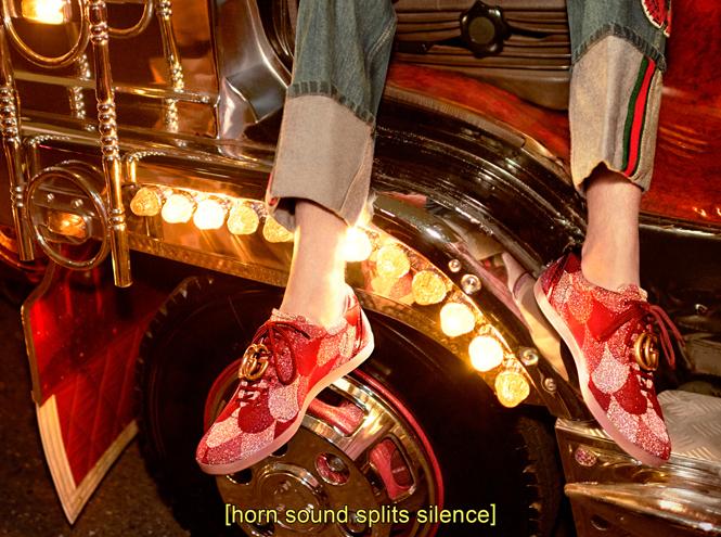 Фото №14 - Японское приключение Петры Коллинс и Ко: новая кампания Gucci