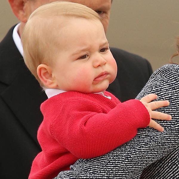 Фото №22 - Принц Джордж Кембриджский: три года в фотографиях