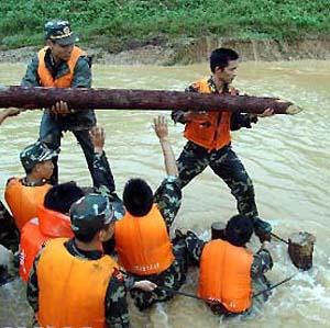 Фото №1 - В Китае продолжаются наводнения