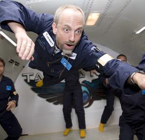 Фото №1 - Космический турист готовится к полету