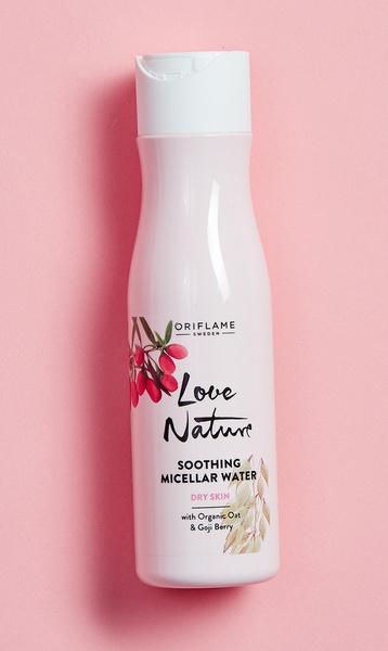 Мицеллярная вода Love Nature, Oriflame.