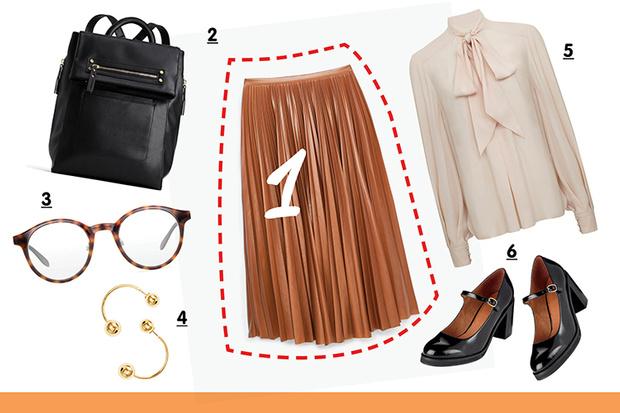 Фото №2 - С чем носить плиссированную юбку