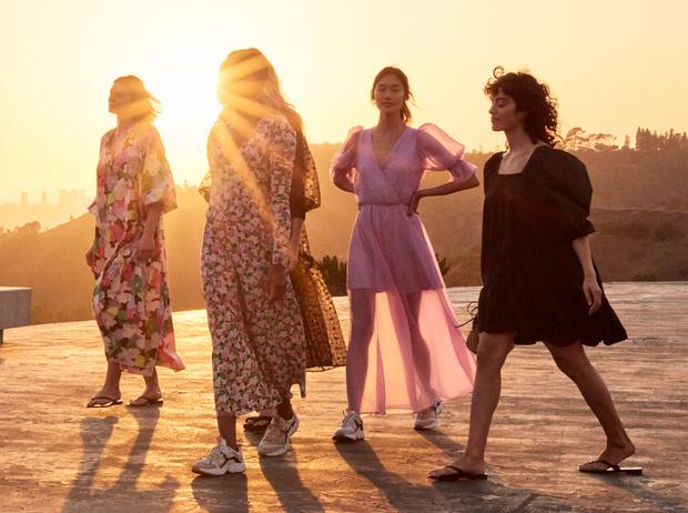 Фото №1 - Эко-мода будущего: платья от H&M, созданные с заботой о природе