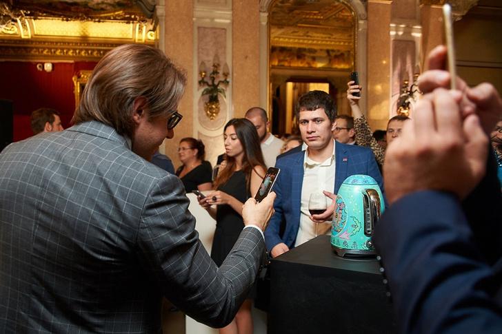 Фото №1 - SMEG отпраздновал юбилей приемом в Посольстве Италии