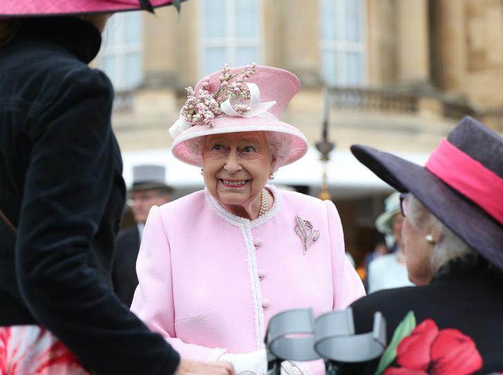 Фото №1 - Королева нарушила протокол на чаепитии в саду