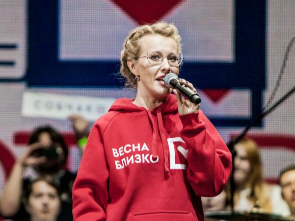 Фото №2 - Собчак: «Ни одна девочка с пятым размером груди не будет мне конкуренткой»