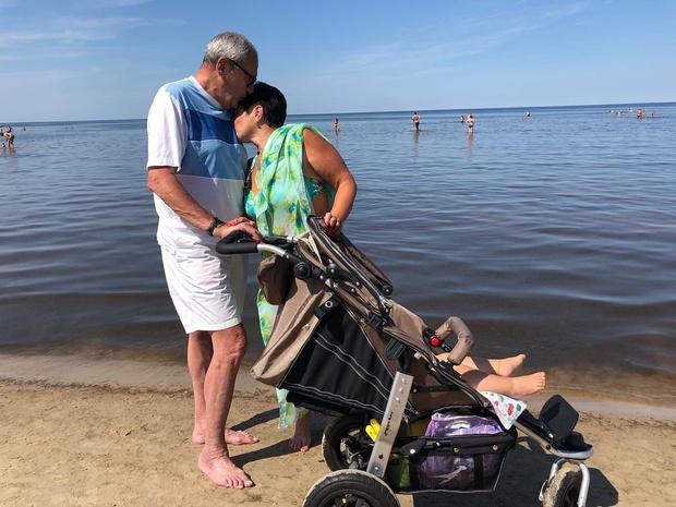 Еще пять дней назад Виторган делился фото с отдыха, и ничем не выдавал, что скоро снова станет отцом