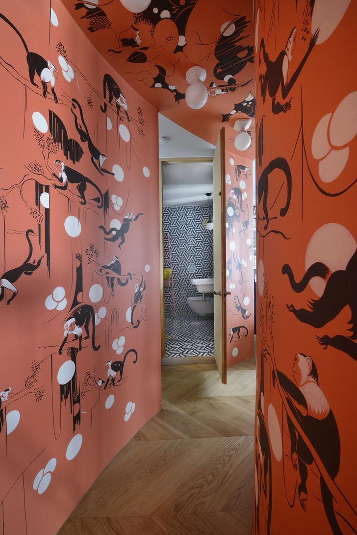 Фото №10 - Парижская квартира для творческой пары с двумя детьми