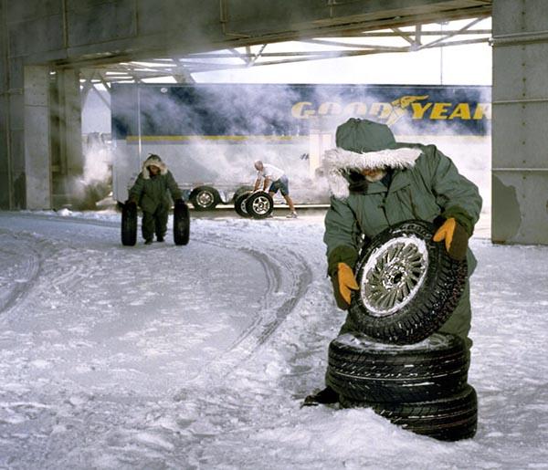 Фото №2 - Зима под колёсами