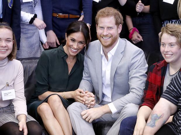 Фото №1 - Гарри и Меган – самая нежная королевская пара Великобритании