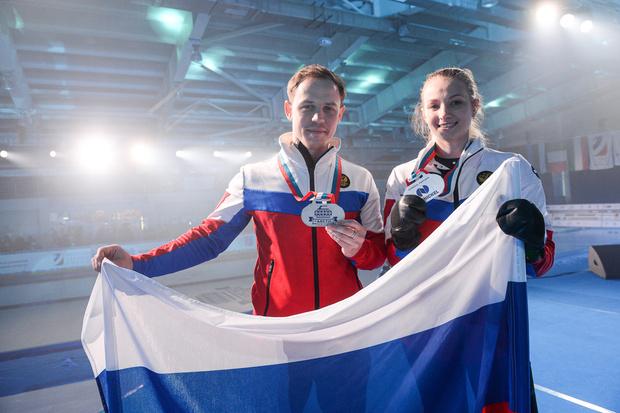 Фото №5 - Лед и пламя: в Дудинке прошел Международный турнир по керлингу Arctic Curling Cup 2021