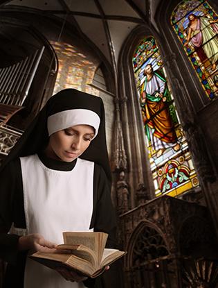 Фото №3 - История одной монахини: «Глас божий из Youtube позвал меня»