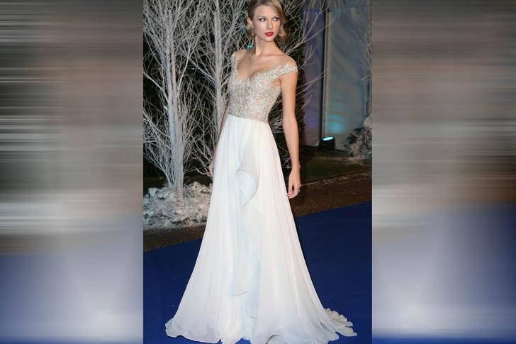 Тейлор Свифт на благотворительном вечере Winter Whites Gala, 2013 год