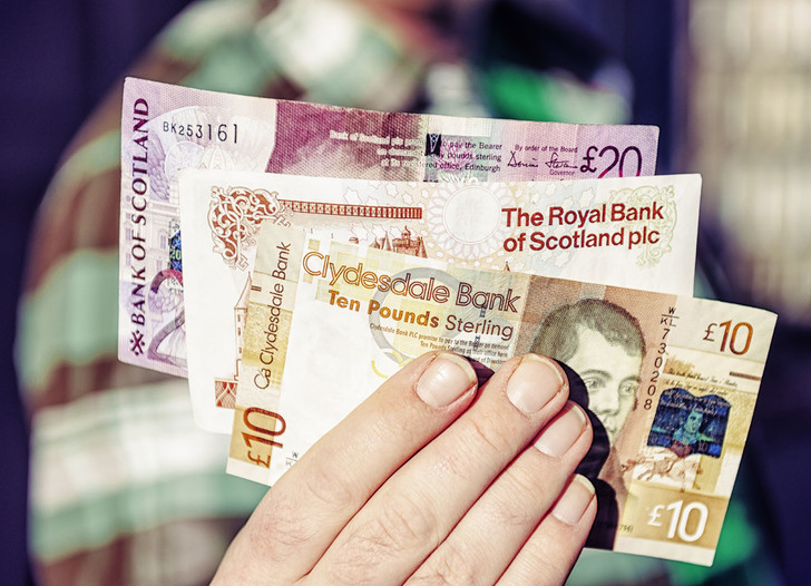 Фото №1 - Деньги: британский фунт