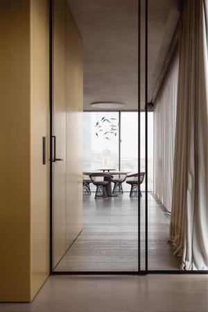 Фото №6 - Golden time: квартира с панорамными окнами в Москве