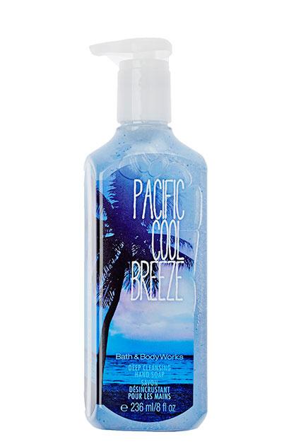 Глубоко очищающее жидкое мыло длярук Pacific Cool Breeze, Bath&Body Works