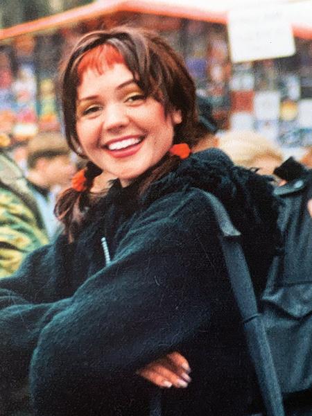 Фото №3 - Назад в 90-е: фиолетовые челки и лосины Чеховой, Салтыковой и других звезд