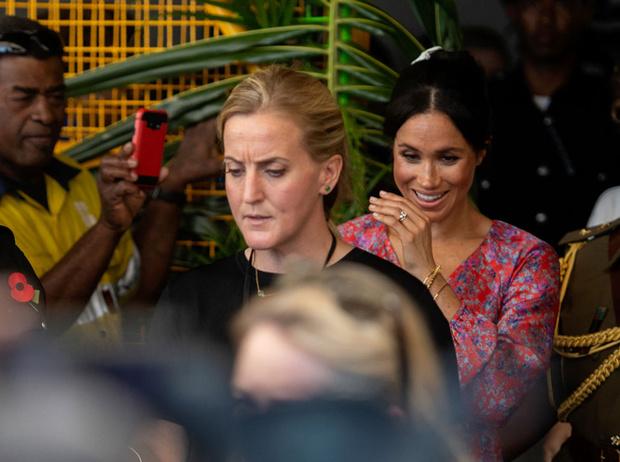 Фото №3 - Почему герцогиню Меган покидает личный телохранитель