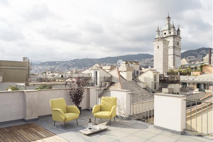 Фото №11 - Квартира с террасой в историческом центре Генуи