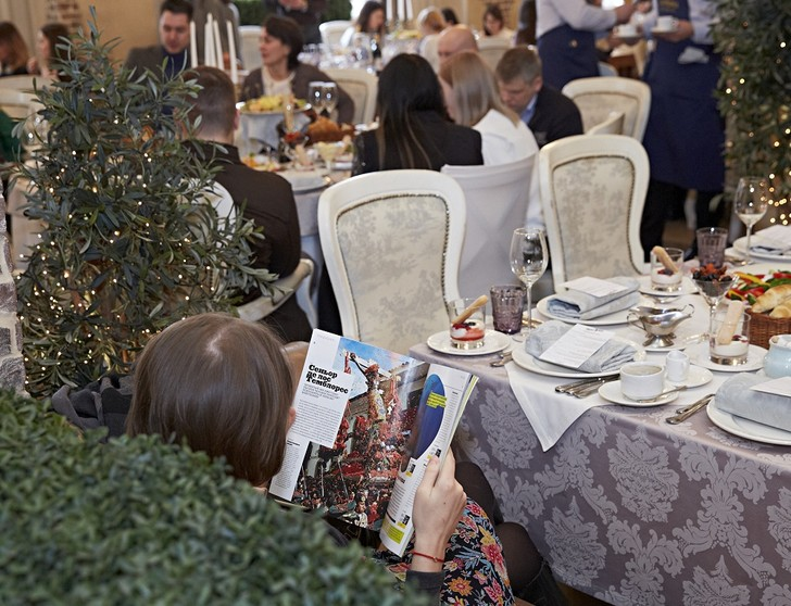 Фото №3 - Команда «Вокруг Света» собрала гостей на пресс-завтрак