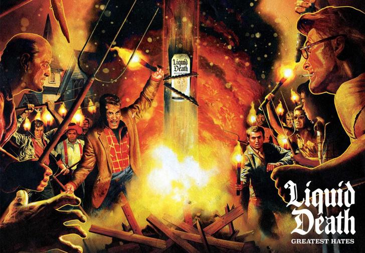 Фото №1 - Американский производитель газировки «Жидкая смерть» превратил комментарии своих хейтеров в дэт-метал-альбом (слушать)