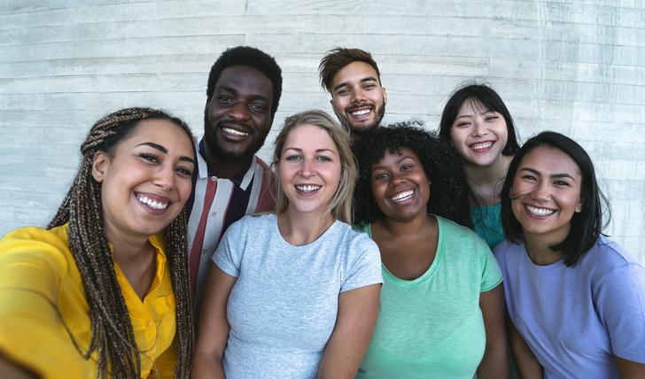 Люди разных расс