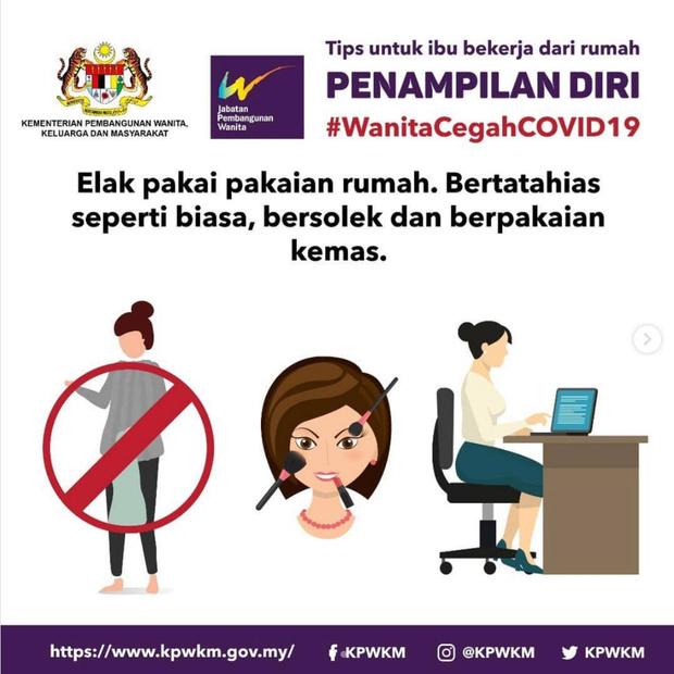 Фото №1 - Власти Малайзии дали сексистские советы женщинам, как вести себя с мужьями на карантине
