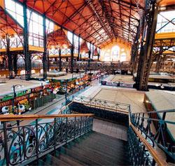 Фото №1 - Будапешт. Центральный рынок