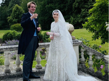 Первая королевская свадьба года: как выходила замуж иорданская принцесса Райя