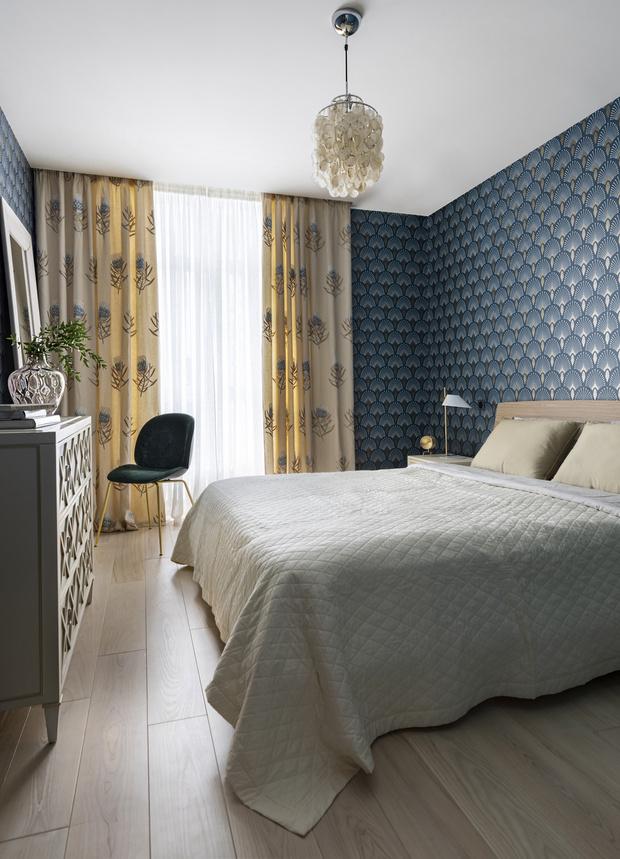 Фото №13 - Киевская квартира 82 м² в пастельных тонах