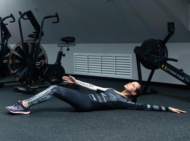 Фото №14 - Катерина Шпица: секреты красоты и комплекс упражнений для хорошей формы