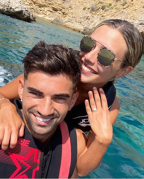 Фото №1 - «Навечно»: старший красавец-сын Зинедина Зидана объявил о помолвке