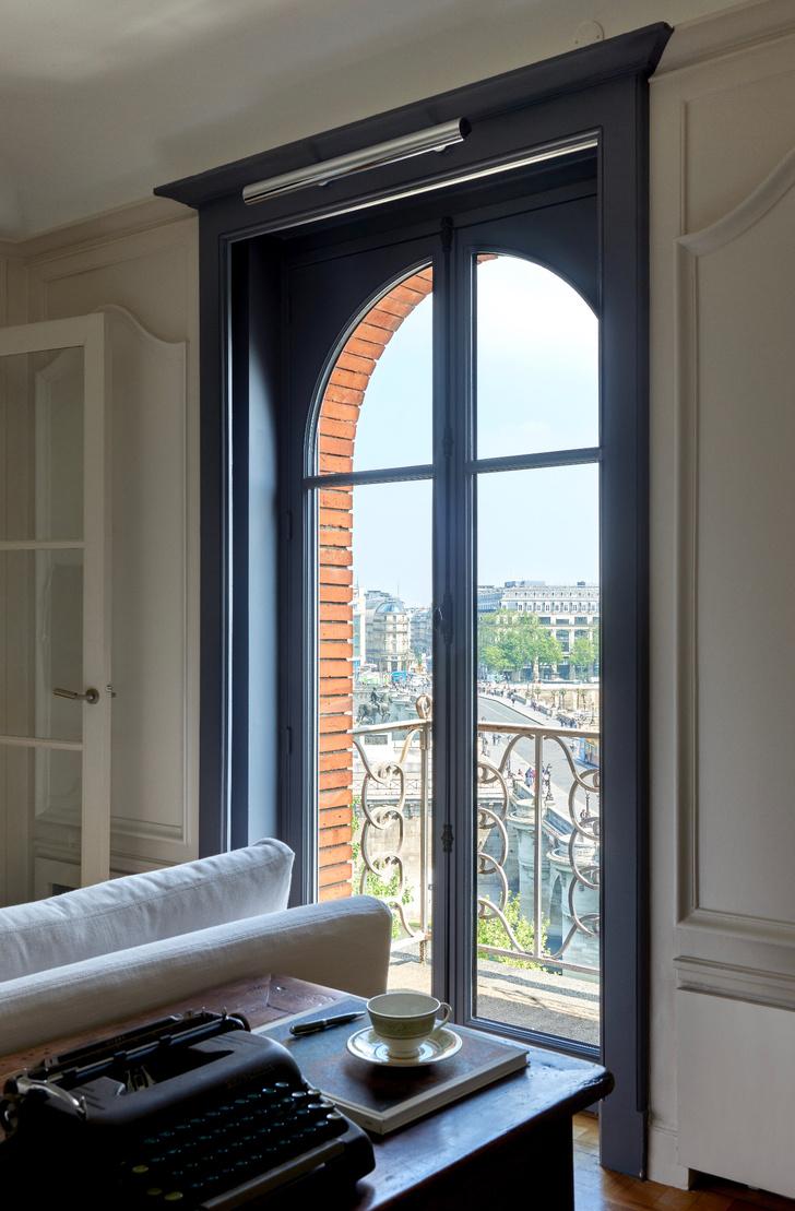 Фото №6 - Парижская квартира с видом на Лувр