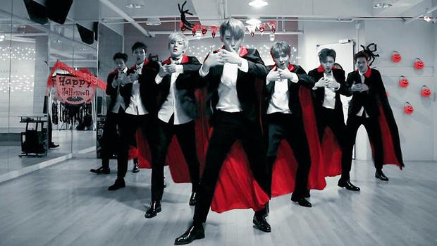 Фото №9 - 10 лучших костюмов k-pop айдолов на Хэллоуин