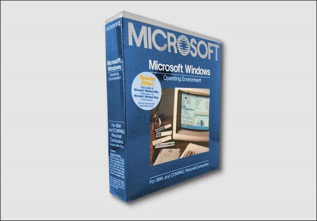 Фото №1 - 35 лет ОС Windows: как выглядела самая первая версия ОС