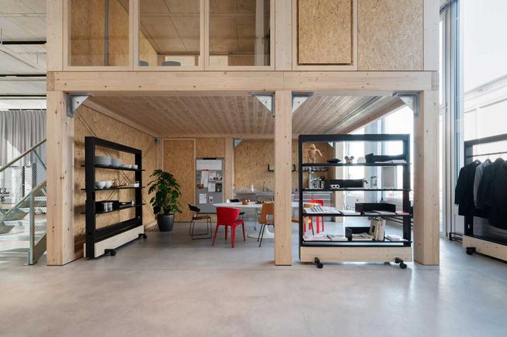 Фото №1 - Танцующий офис: студия дизайнера Стефана Хюрлеманна