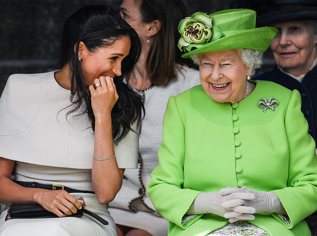 Фото №5 - Насколько герцогиня Меган уже сблизилась с королевской семьей