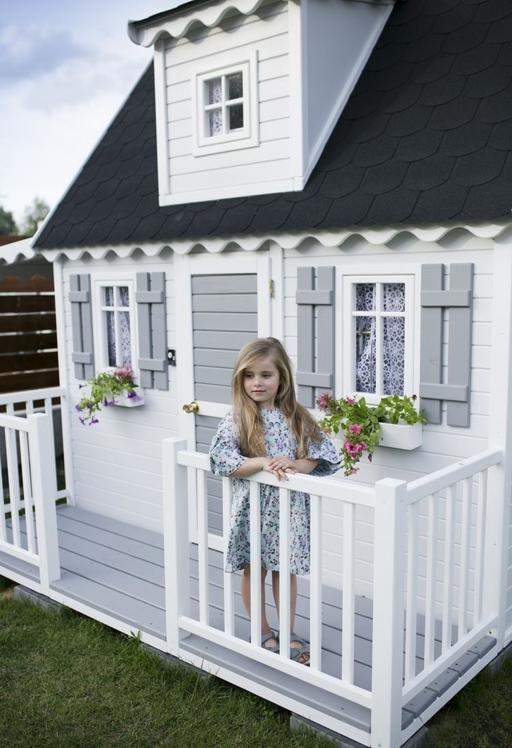 Фото №5 - Дети на даче: игровые домики в саду