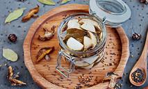 Белые грибы в маринаде с пажитником и горчицей