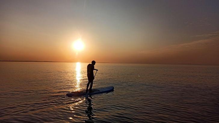 Фото №1 - Ласковый серфинг: где покататься в Питере и Калининграде