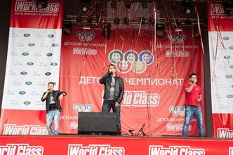 Фото №4 - Состоялся I Детский Чемпионат сети World Class - 2012!